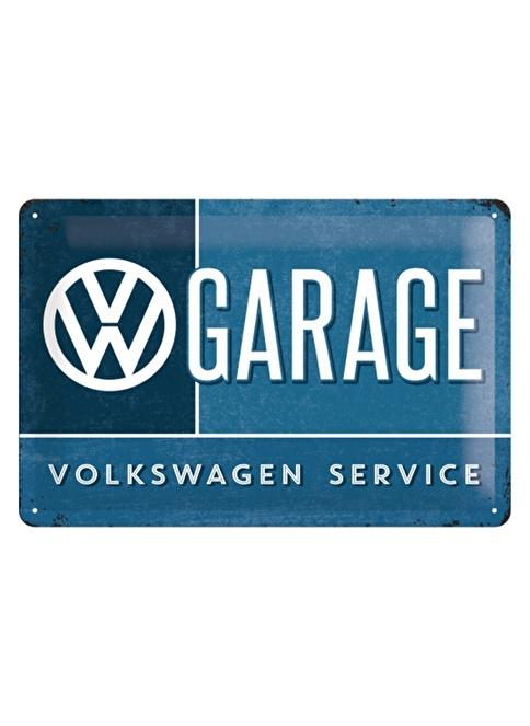 Nostalgic Art VW Garage Duvar Panosu Renkli